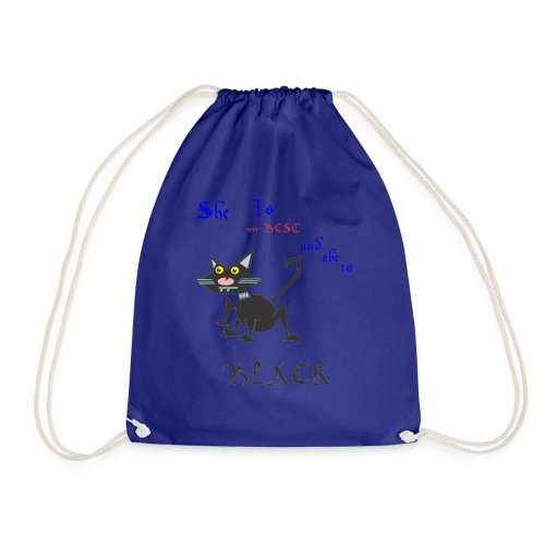 My best cat - Drawstring Bag