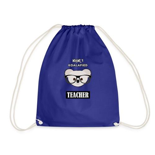 Highly Koalafied Teacher - Drawstring Bag