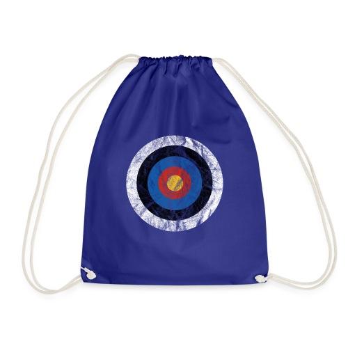 T-Shirt Bullseye Ziel Pfeil Bogen Archery Dart - Turnbeutel