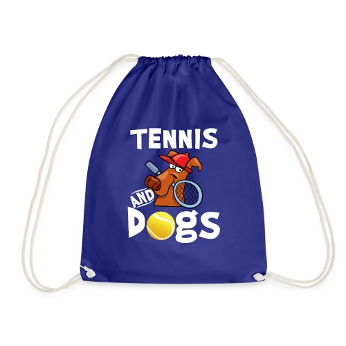Tennis And Dogs Funny Sports Pets Animals Love - Turnbeutel