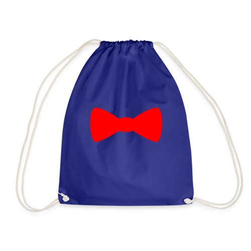 Red Bowtie - Drawstring Bag