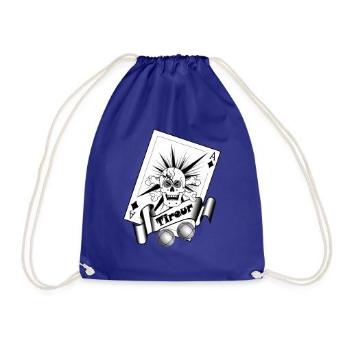 t shirt petanque tireur crane carreau boules - Sac de sport léger