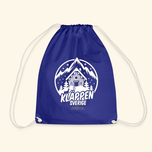 Kläppen Sälen Sverige Ski Resort T Shirt Design - Turnbeutel