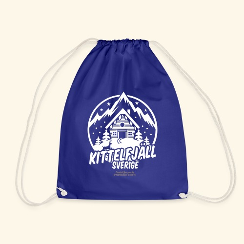 Kittelfjäll Ski Resort T Shirt Design - Turnbeutel