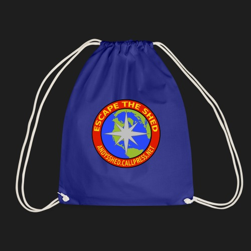 Escape The Shed Badge - Drawstring Bag