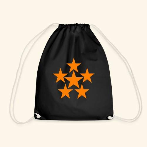 5 STAR orange - Turnbeutel