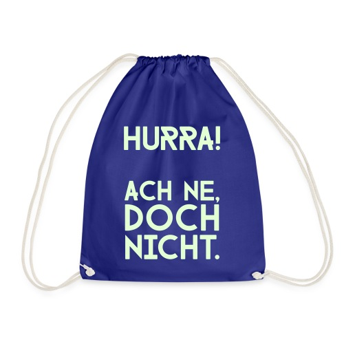 Hurra - Turnbeutel