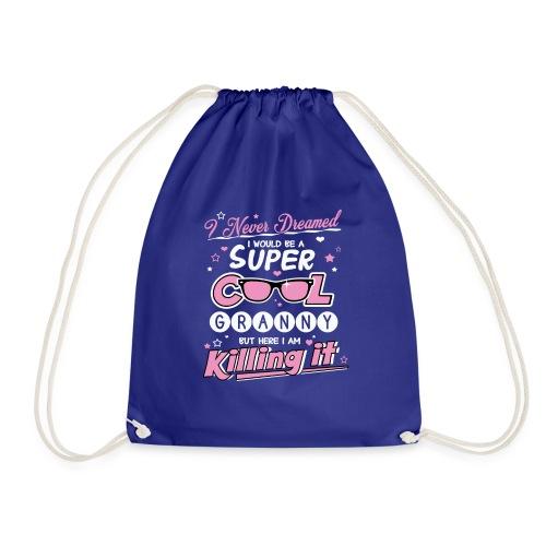 Super Cool Granny - Drawstring Bag