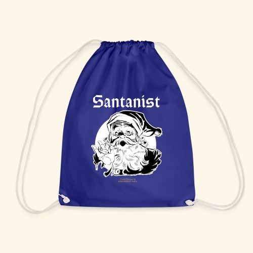 Ugly Christmas Santa Design Santanist - Turnbeutel