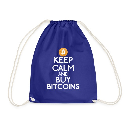 Keep Calm And Buy Bitcoins - Bitcoin Shirts - Turnbeutel