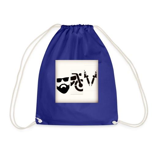 BB&T silhouettes - Drawstring Bag