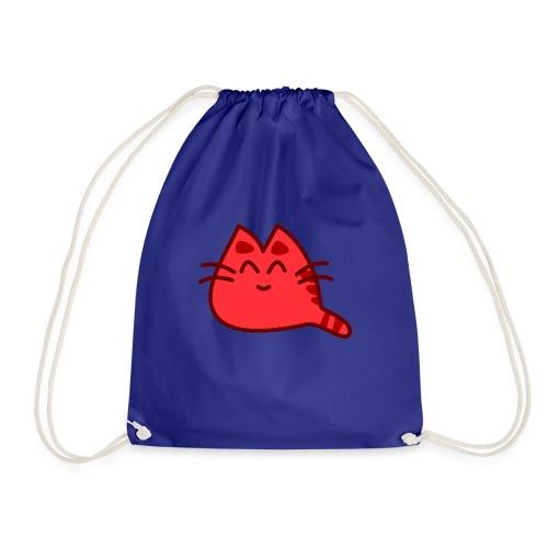 Cute Cat Katze Miau - Turnbeutel