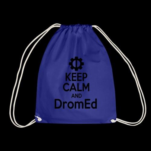 DromEd (Black Design) - Drawstring Bag