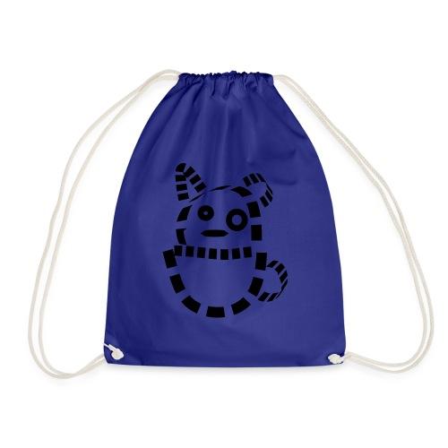 Katze Hund Kätzchen cat süß schmusekatze Geschenk - Turnbeutel