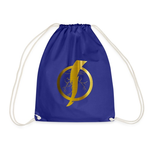 Static Shock Logo - Drawstring Bag