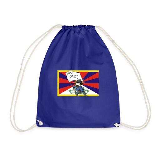 Free Tibet - Sac de sport léger