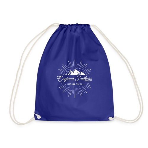 EnglandPeakers White Logo - Drawstring Bag