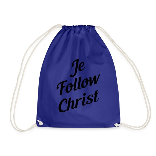 je follow christ - Sac de sport léger