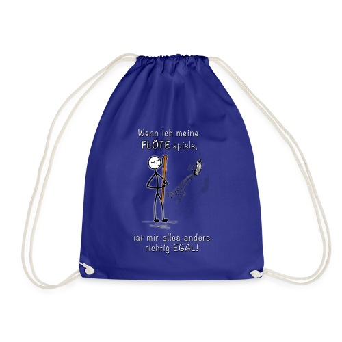 Recorder Love f. dark colours - Drawstring Bag