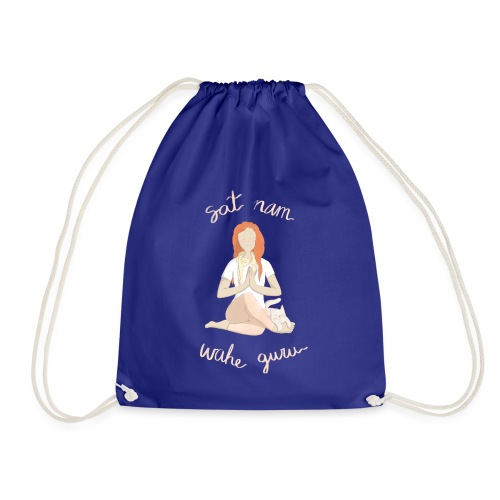 Meditando con mantras - Mochila saco