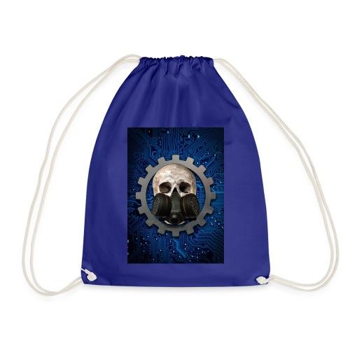 EBM - ELECTRONIC BODY MUSIC - ELECTRO HEAD - Drawstring Bag