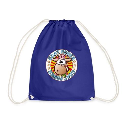 Goat Power - Drawstring Bag