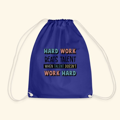 HARD WORK - Turnbeutel