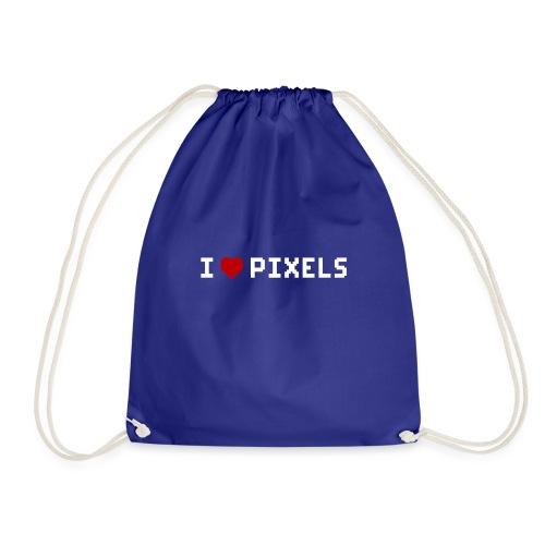 I Love Pixels - Sportstaske