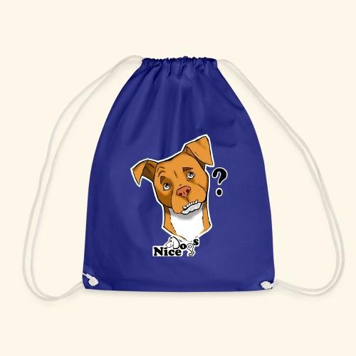 Nice Dogs pitbull 2 - Sacca sportiva