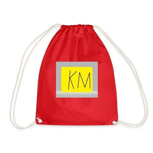 KM logo kleding - Gymtas