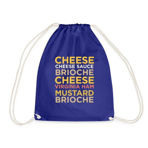 Croque Madame - Drawstring Bag