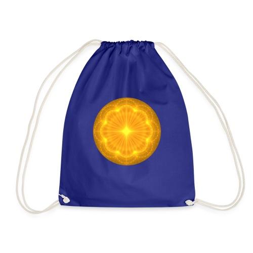 Golden Radiance Mandala Heart - Gymtas