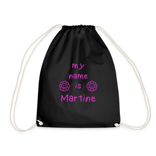 MARTINE MY NAME IS - Sac de sport léger