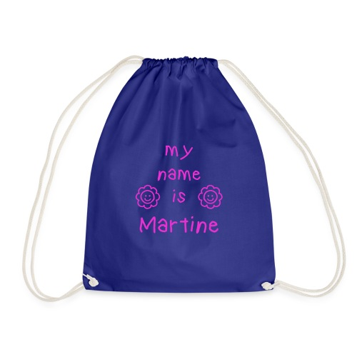 MARTINE MY NAME IS - Sac de sport léger