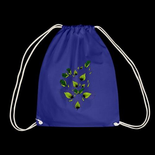 abstract art - Drawstring Bag
