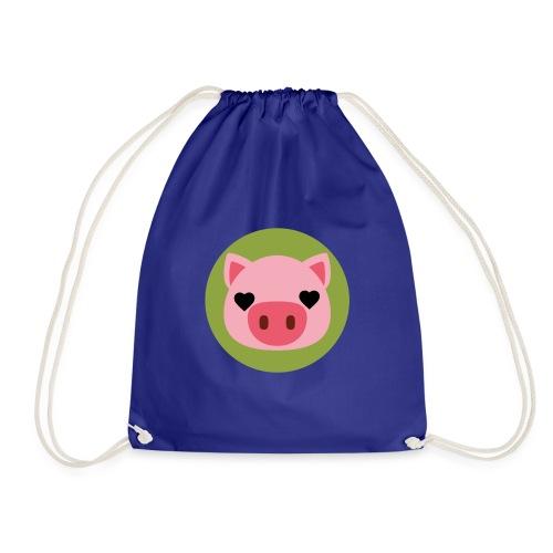 Pig Green - Mochila saco