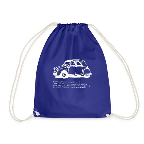 Classic car2 - Drawstring Bag