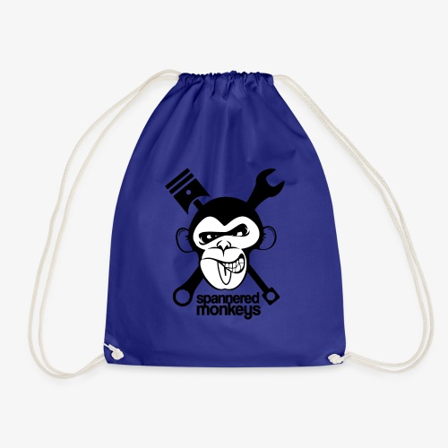 spanneredmonkeys-monkeyface - Drawstring Bag