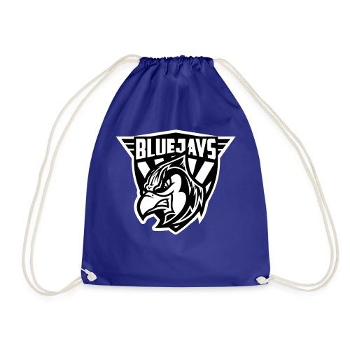 BLUEJAYS Logo schwarz / weiß - Turnbeutel