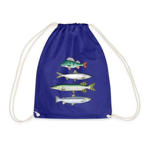FOUR FISH - Ahven, siika, hauki ja taimen tuotteet - Jumppakassi