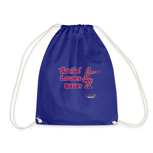 Girld Love Squat - Drawstring Bag