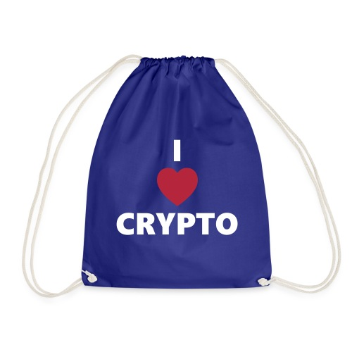 I love Crypto - Turnbeutel