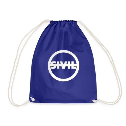 sivil logo - Drawstring Bag