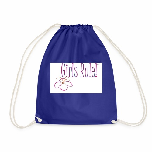Girls rule - Drawstring Bag