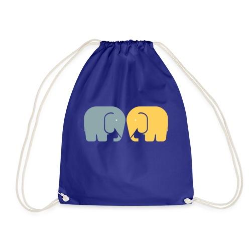 Vi två elefanter - Gymnastikpåse