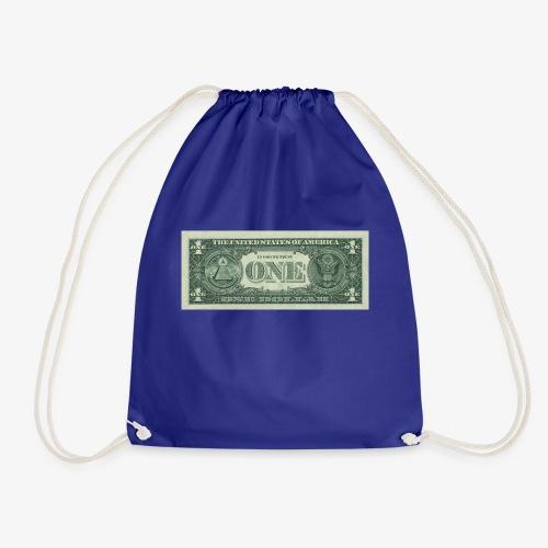 Dollar Note 1$ Geldschein - Turnbeutel