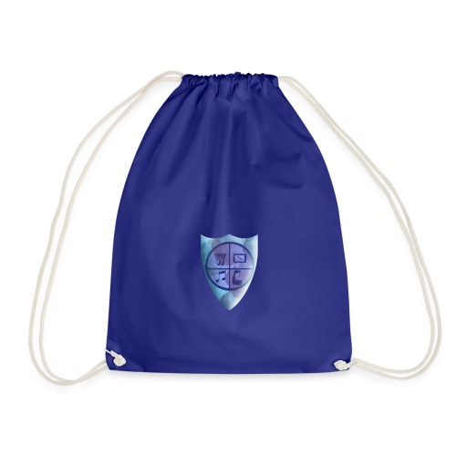 Emblem of the knight - Drawstring Bag