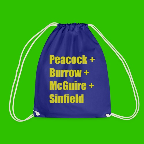 Leeds Greats [1] - Amber - Drawstring Bag
