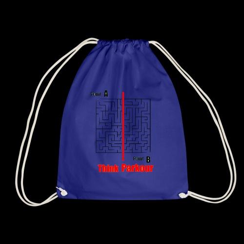maze - Drawstring Bag