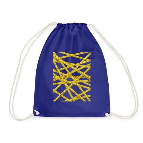 POLICE LINE - Drawstring Bag